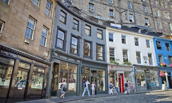 Schotland | Edinburgh | Victoria Street