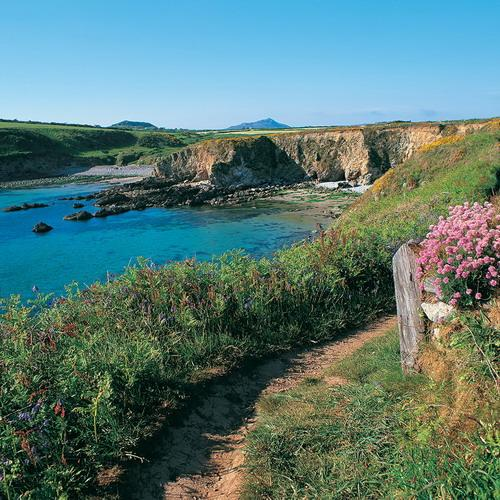 Coast path at Porth Lysgi near St Davids