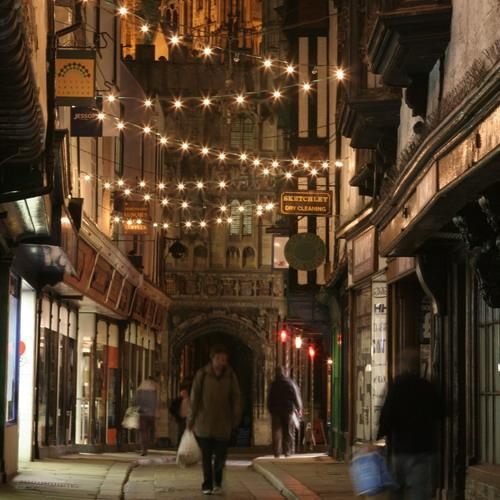 Kerst Canterbury Mercery Lane