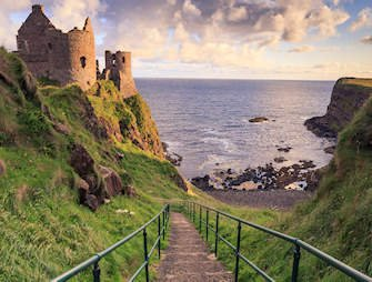 grand tour ireland-Dunluce Castle