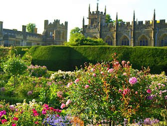Sudeley Castle - Queens Garden, Cotswolds