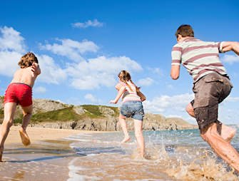 Pembrokeshire Coast, Barafundle Beach
