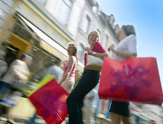 Londen, shopping ladies