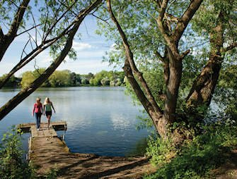 York lakeside exterior